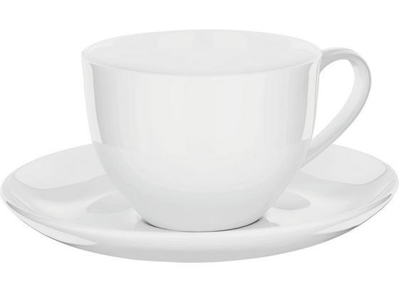Šálek Na Kávu S Podšálkem Bonnie -top- - bílá, Moderní, keramika (0,28l) - Mömax modern living
