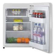 Bikitchen Kühlschrank Retro Cool 080 Weiß - Weiß, KONVENTIONELL, Kunststoff (49/72/54,90cm) - Bikitchen