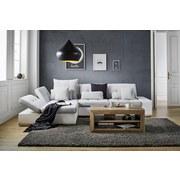 Sedací Souprava Velato - bílá/šedá, Moderní, umělá hmota (200/310cm) - Based