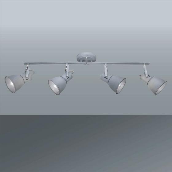 Svítidlo Bodové Matti - šedá, Lifestyle, kov (68/11cm) - MÖMAX modern living