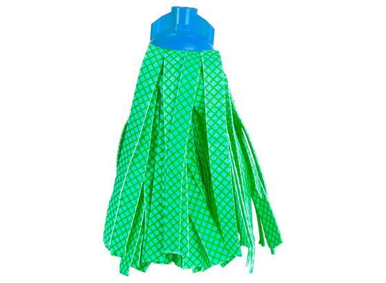 Wischmopp Medium - Blau/Grün, KONVENTIONELL, Textil (14/30cm) - Ombra