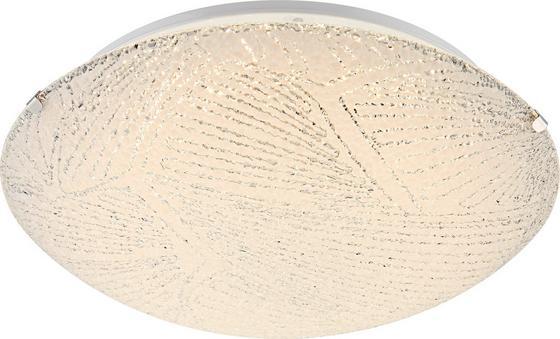 Deckenleuchte Noir - Weiß, KONVENTIONELL, Glas/Metall (30/10cm) - James Wood