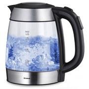 Wasserkocher Perfect Tea - Transparent, MODERN, Kunststoff (15/21/23cm)