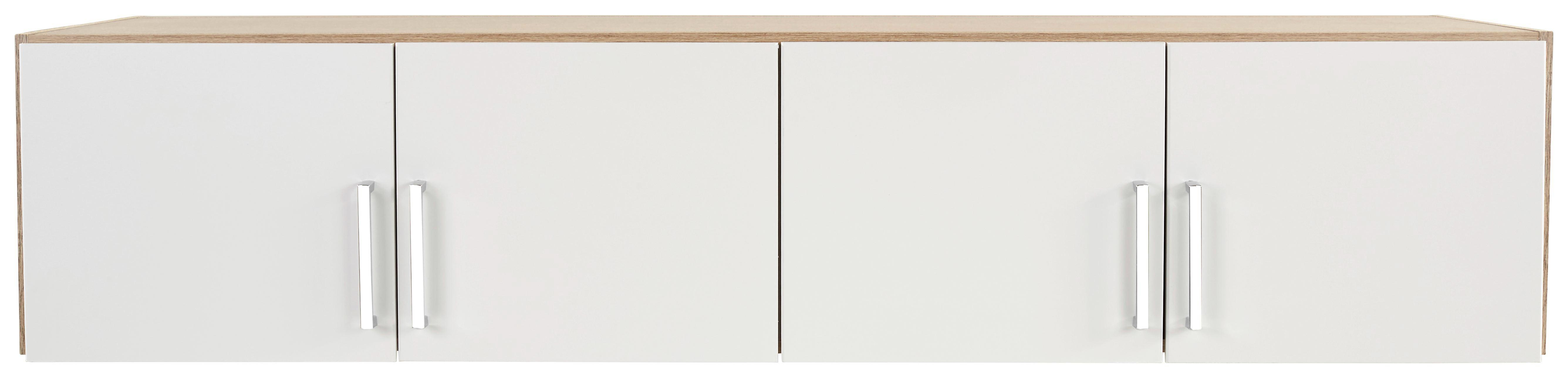 Szekrényrátét 4 Ajtós Wien Szekrényhez - tölgy színű/fehér, konvencionális, faanyagok (181/39/54cm)