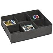 Schubladenbox Selina - Grau, KONVENTIONELL, Kunststoff (44/11/34cm)