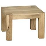 Couchtisch Holz Massiv Mumbai, Akazie - Akaziefarben, Design, Holz (60/60/40cm) - Livetastic