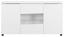 Sideboard Newport 155cm Weiss - Weiß, MODERN, Holzwerkstoff (155/83.5/41cm)