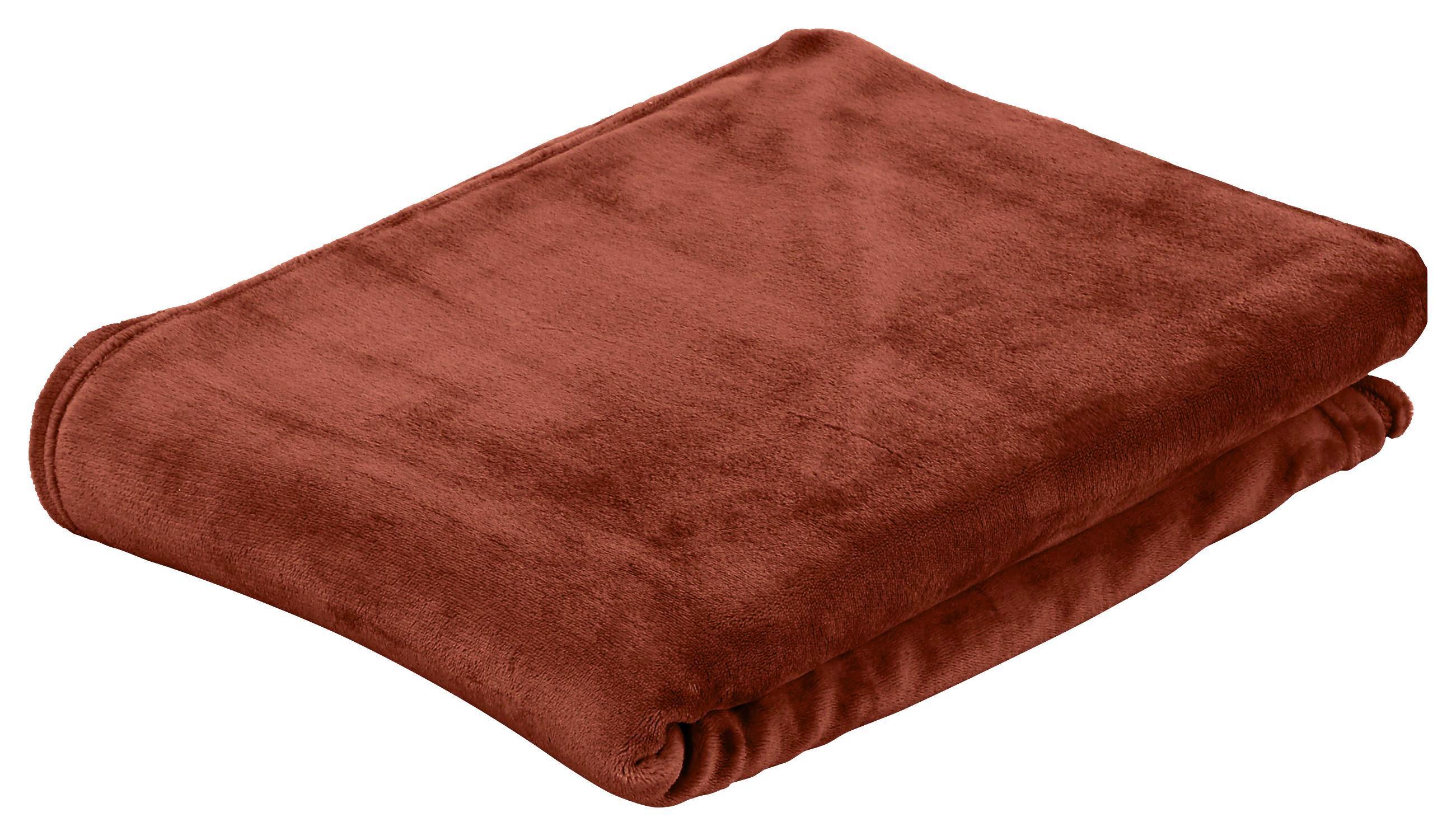 Puha Takaró Marlies I - barna, konvencionális, textil (220/240cm) - LUCA BESSONI