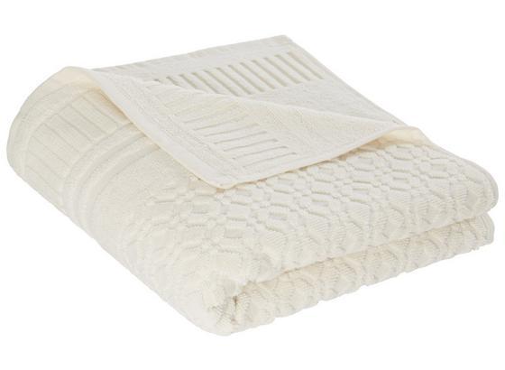 Ručník Carina -top- - bílá, Romantický / Rustikální, textil (50/100cm) - Mömax modern living