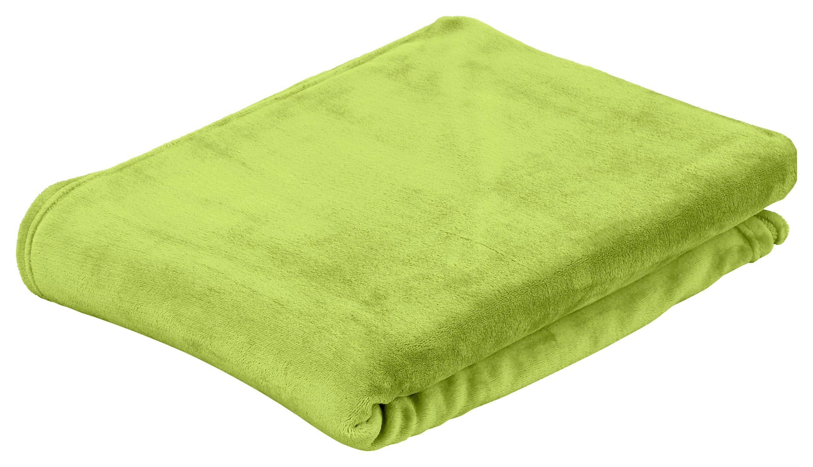 Puha Takaró Marlies I - zöld, konvencionális, textil (220/240cm) - LUCA BESSONI