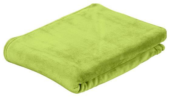 Puha Takaró Marlies - zöld, konvencionális, textil (150/200cm) - LUCA BESSONI
