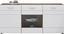 Sideboard Avensis - Eichefarben/Schwarz, MODERN, Holzwerkstoff (180/82,6/43,1cm) - Luca Bessoni