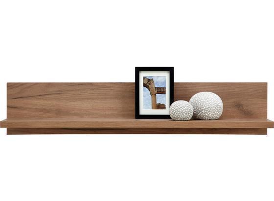 Nást. Police Se Zadním Panelem Avensis - barvy dubu, Moderní, kompozitní dřevo (100/20/20cm) - Luca Bessoni