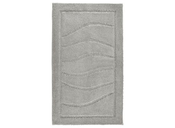 Badematte Lasse - Hellgrau, ROMANTIK / LANDHAUS, Textil (60/100cm) - James Wood