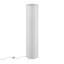 Stojacia Lampa Francesco V: 120cm, 60 Watt - biela/chrómová, Konvenčný, kov/papier (27,5/120cm) - Based