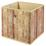 Aufbewahrungsbox Wuddi 3 B: 31,5 Brauntöne - Braun, Basics, Textil (31,50/31/31,50cm)
