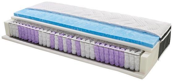 Boxspringmatratze Harmony Top H2 90x200 - Weiß, Textil (90/200cm) - Primatex Deluxe