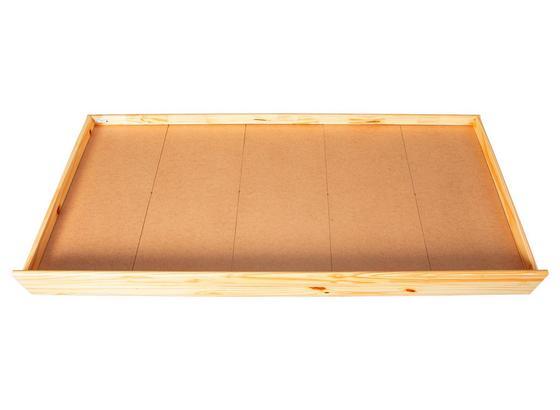 Bettschubkasten Lati B: 199 cm - Naturfarben, Basics, Holz/Kunststoff (199/22/94cm)