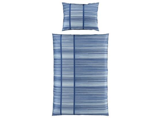 Bettwäsche Melisanda - Blau, MODERN, Textil - Luca Bessoni