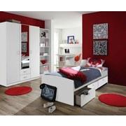 Psací Stůl Point Bílá - bílá, Moderní, dřevěný materiál (120/75/64cm)