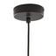 Závěsné Svítidlo Santiago - černá, Moderní, kov/sklo (30/175cm) - Modern Living