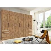 Drehtürenschrank mit Schubladen 300cm Level 36a, Eichendekor - Eichefarben, MODERN, Holzwerkstoff (300/216/58cm)