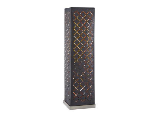 Stolová Lampa Elin - čierna/zlatá, Štýlový, kov/textil (15/57cm) - Mömax modern living