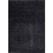 Hochflor Teppich Dunkelgrau Galaxy 160x230 cm - Dunkelgrau, MODERN, Textil (160/230cm)