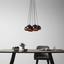 Závesná Lampa Emanuella - čierna/zlatá, Moderný, kov (15/113cm) - Modern Living