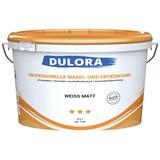 Professionelle Wand- und Deckenfarbe 5 Liter Weiß - Weiß (5,000l) - Dulora