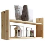 Wandregal Mona B: 90 cm Kieferfarben - Kieferfarben, Basics, Holz (90/45/20cm) - Livetastic