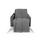 Wohndecke Theres 130x170 cm - Grau, MODERN, Textil (130/170cm) - Luca Bessoni