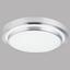 LED-Deckenleuchte Bello - Opal/Weiß, MODERN, Kunststoff/Metall (58,5/12cm)