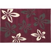 Teppich Kimi 100x160 cm - Violett, KONVENTIONELL, Textil (100/160cm)