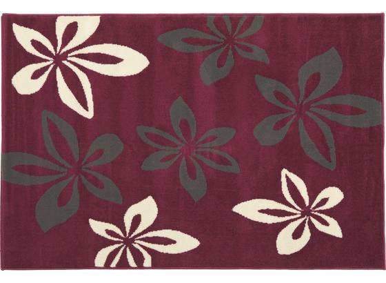 Teppich Kimi 60x110 cm - Violett, KONVENTIONELL, Textil (60/110cm) - Ombra