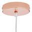 Závesná Lampa Konrad 30/150cm, 60 Watt - medená, Moderný, kov/plast (30/30/150cm) - Mömax modern living