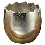 Übertopf Ø19 cm - Silberfarben, MODERN, Metall
