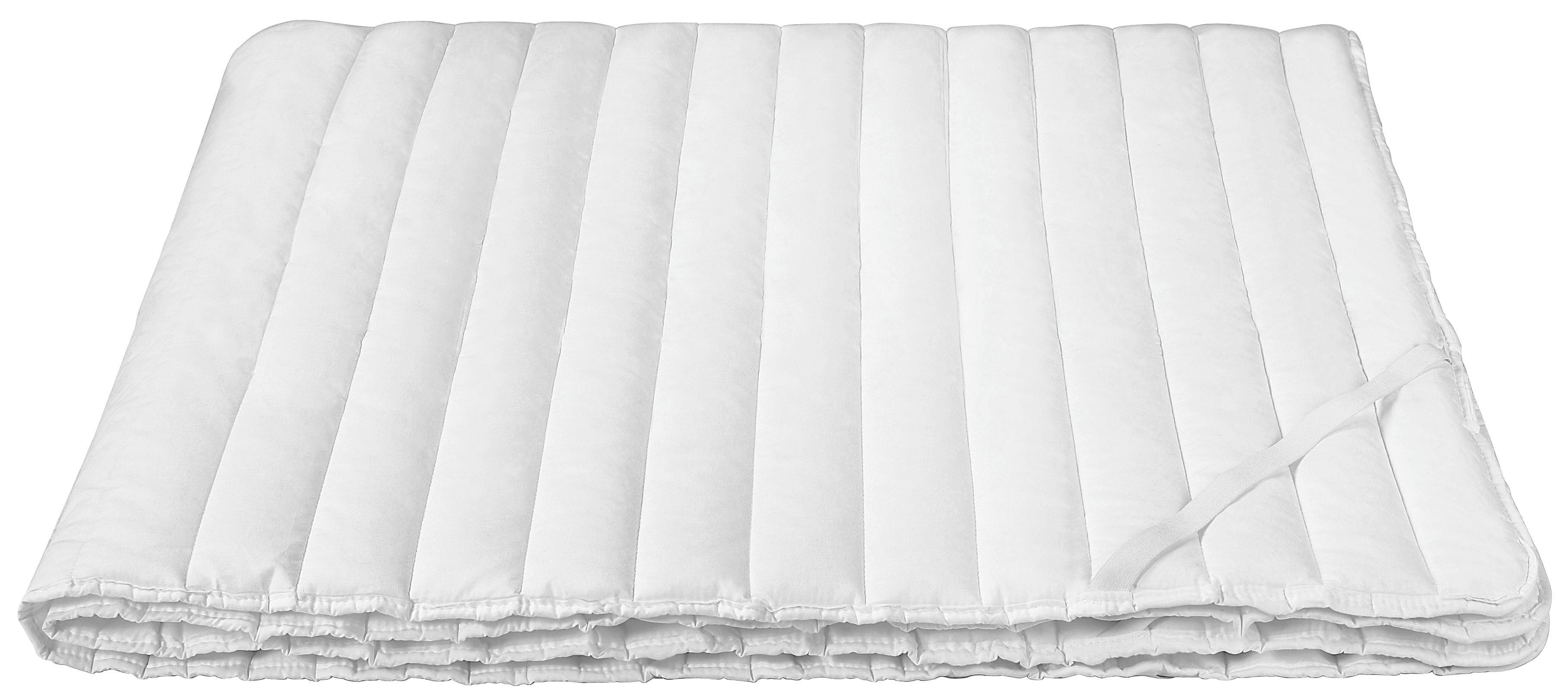 Matracvédő Kerstin - fehér, konvencionális, textil (180/200cm) - PRIMATEX