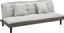 Pohovka S Rozkladom Babette - sivá/svetlosivá, Moderný, textil (183 70 82cm) - Modern Living