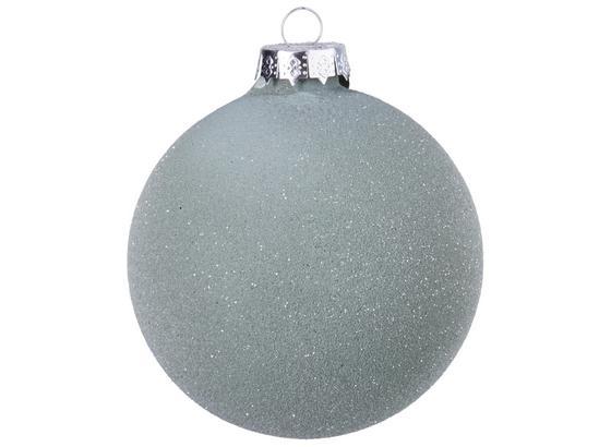 Guľa Na Vianočný Stromček Lena - strieborná, sklo (8cm) - Mömax modern living