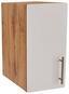 Küchenoberschrank Stella H30 - Eichefarben/Weiß, Holzwerkstoff (30/57/37cm) - Ombra