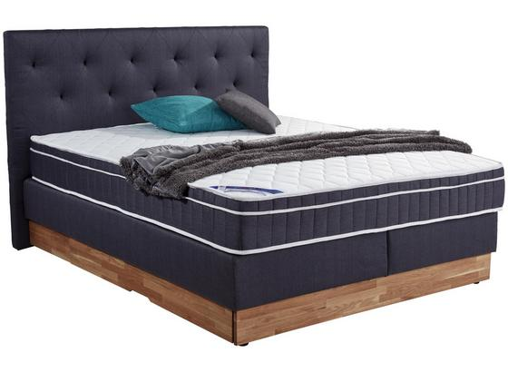 boxspringbett mara 160x200 grau blau online kaufen m belix. Black Bedroom Furniture Sets. Home Design Ideas