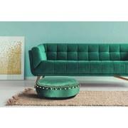 Pouf Taj Mahal Grün - Grün, Basics, Textil (65/25cm)