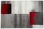 Webteppich Florence 120x170 cm - Beige/Rot, KONVENTIONELL, Textil (120/170cm) - Ombra