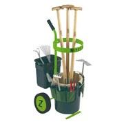 Gartengerätewagen Zi-uvgw1 - Grün, MODERN, Holz/Kunststoff (123cm) - Zipper