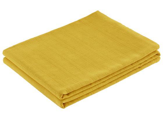 Prehoz Solid One -ext- - žltá, textil (140/210cm)