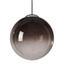 Závesná Lampa Lus 30/120cm, 40 Watt - čierna/chrómová, Štýlový, kov/plast (30cm) - Modern Living