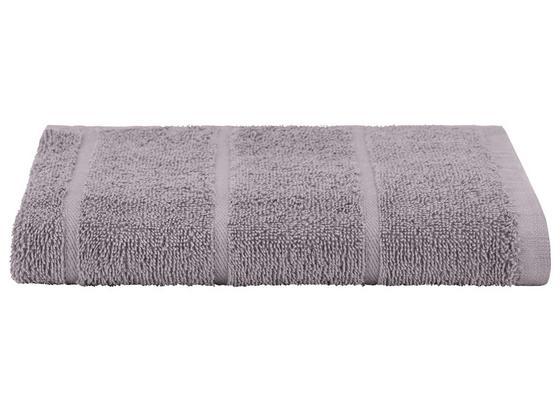 Badetuch Liliane - Hellgrau, KONVENTIONELL, Textil (100/150cm) - Ombra