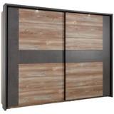 Pasparta Chanton - tmavě šedá, Lifestyle, kov/kompozitní dřevo (230,9/215,1/23,8cm) - Based