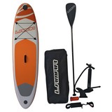 Stand-Up Paddle Board Lamar - Orange/Weiß, MODERN, Kunststoff (280/71/15cm)